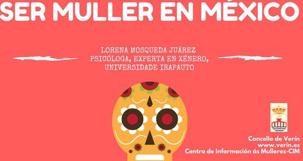 Photo of A Casa da Cultura de Verín acolle unha charla sobre a muller mexicana
