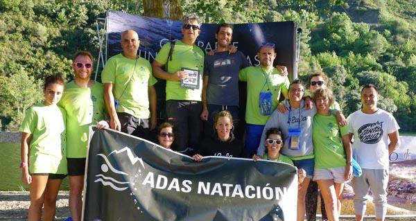 Photo of Dous podios para o Adas Natación na II Travesía a nado de Valdeorras
