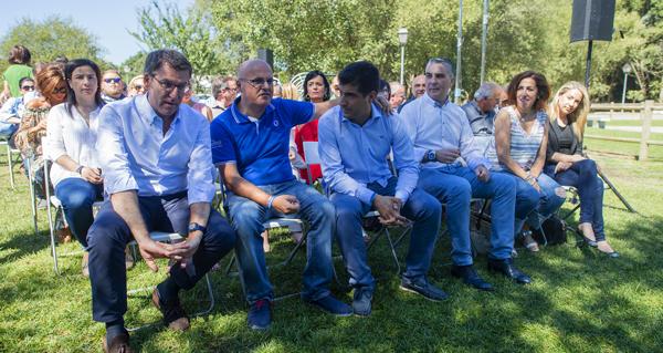 Photo of O PP de Ourense celebra en Cenlle a súa sexta Xunta Directiva