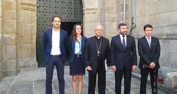 Photo of A Catedral de Ourense estrea imaxe corporativa e xestión turística
