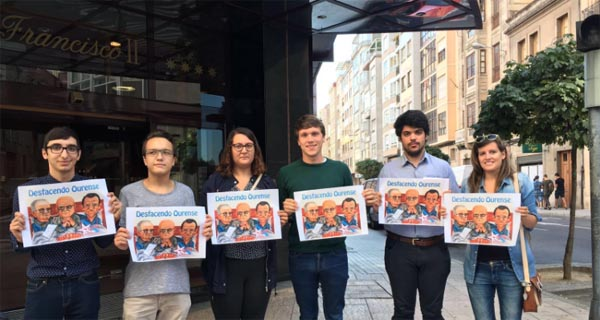 """Photo of As xuventudes socialistas presentan a campaña """"Desfacendo Ourense"""""""