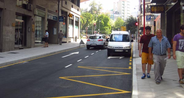 Photo of A rúa Concello loce xa o seu novo aspecto, tras case seis meses de obras