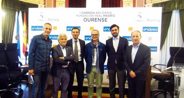 Photo of Presentan en Ourense a I Carreira Solidaria da Fundación Real Madrid