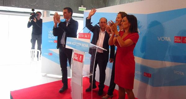 """Photo of Pedro Sánchez recala en Ourense e pide o voto polo """"cambio"""""""