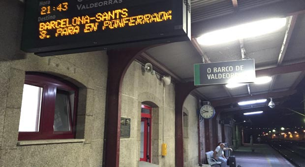 Estación de ferrocarril do Barco de Valdeorras.