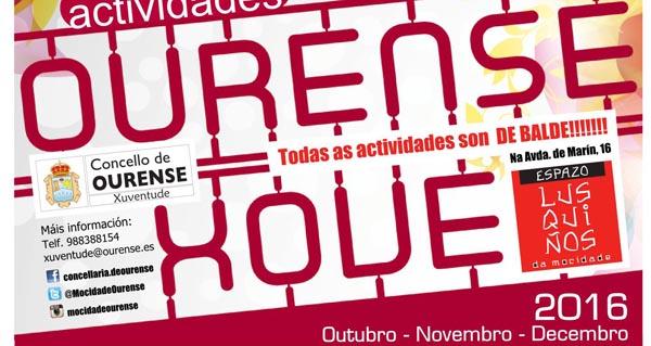 Photo of Abre o prazo de inscrición para as actividades do Ourense Xove 2016