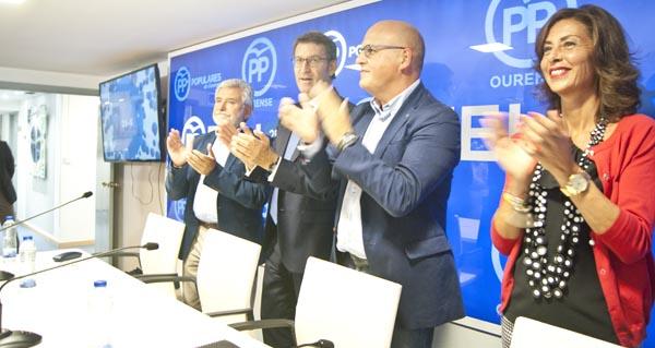 Photo of Feijóo preside en Ourense a primeira xunta directiva do PPOU tras a victoria electoral