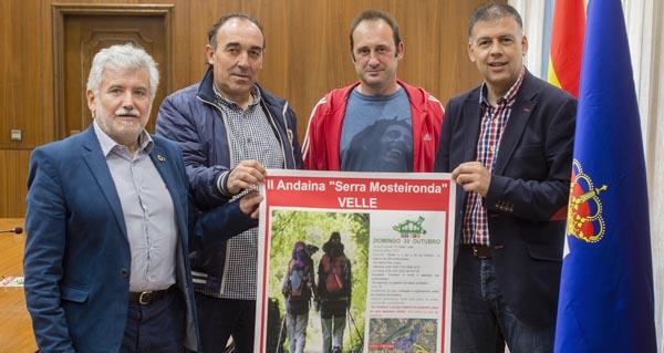 """Photo of II andaina """"Serra Mosteironda"""", o vindeiro 30 de outubro"""