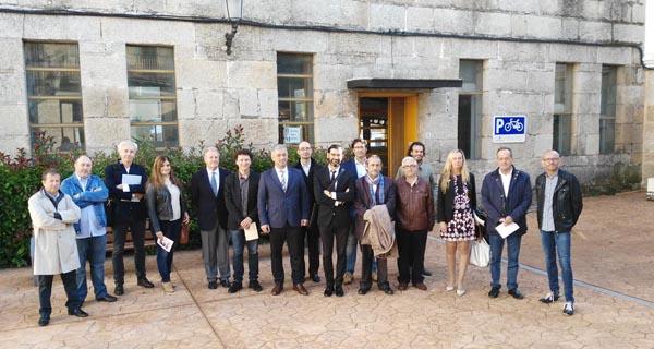 Photo of O Carballiño abre as Xornadas de Arquitectura sobre Daniel Vázquez Gulías