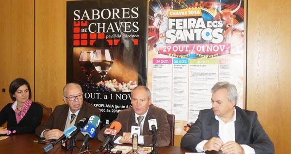Photo of Feira dos Santos en Chaves, do 29 de outubro ao 1 de novembro