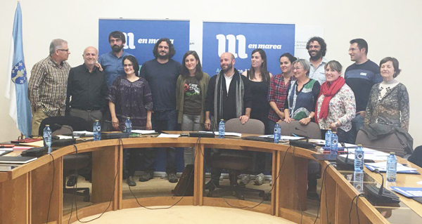 Photo of Xuntanza de traballo do grupo de En Marea no Parlamento galego