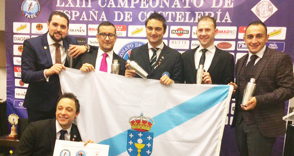 Photo of Boa actuación galega no Campionato Nacional de Coctelería, en Madrid