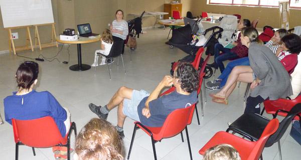 Photo of Lactación materna e alimentación complementaria, nunha charla no Barco