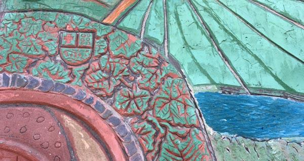 Photo of O mural realizado no obradoiro de Carlos Moreyra en Vilamartín inaugurarase o 7 outubro