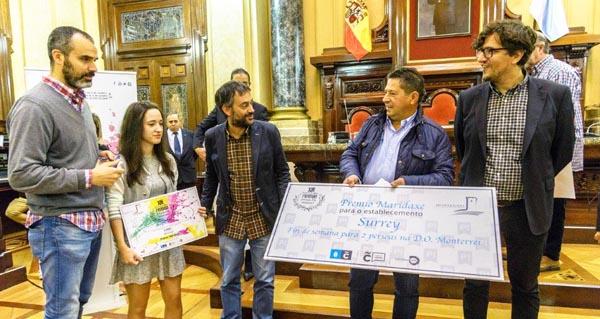 """Photo of Entréganse os premios """"Maridaxe"""" da D.O. Monterrei no Concurso Picadillo'16"""