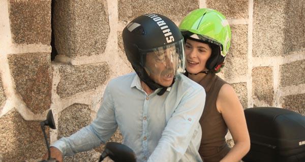 """Photo of Cristina Pato con Manuel Manquiña no programa da TVG """"O gato con botas"""""""