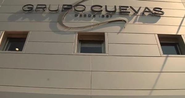 Exterior do Grupo Cuevas en Ourense.