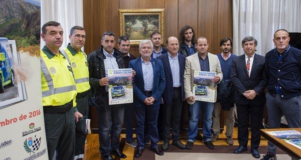 Presentación do rallye na Deputación de Ourense.