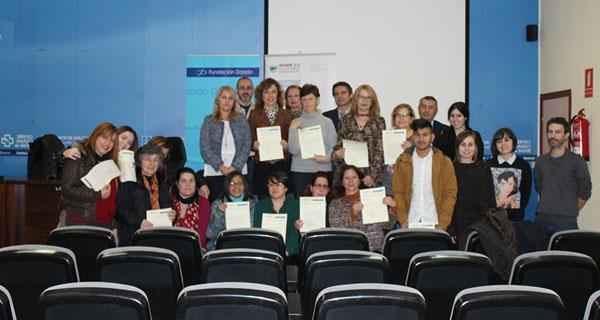 """Photo of Entrega de diplomas do curso """"Atención especializada a persoas maiores dependentes"""", en Ourense"""