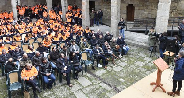 Photo of Castro Caldelas e Parada de Sil, capitais do voluntariado galego de Protección Civil
