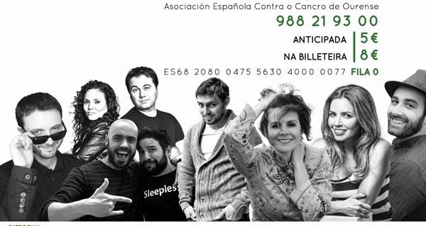 Photo of IV edición da Gala Contra o Cancro de Ourense, este venres no Auditorio