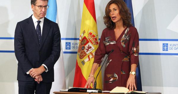 Photo of Marisol Díaz toma posesión como delegada da Xunta en Ourense