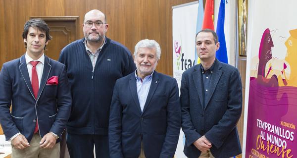 Santiago Jordi, Luis Buitrón, Rosendo Fernández e Juan Casares.