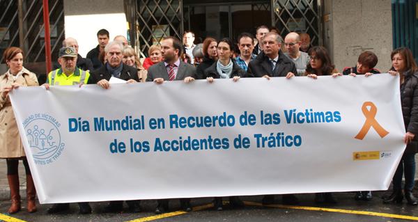 Photo of Homenaxe ás vítimas de accidentes de tráfico en Ourense