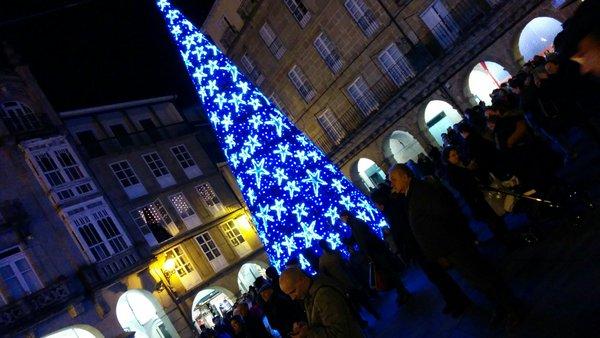 """Photo of Ourense brilou """"Con luz propia"""" esta fin de semana (vídeo)"""