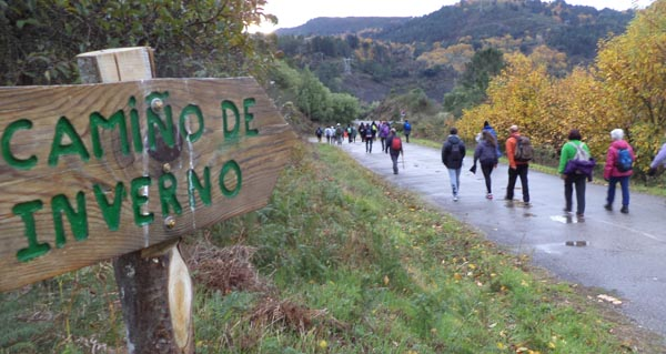 Photo of V etapa do Camiño de Inverno, entre Bendilló e Barxa de Lor