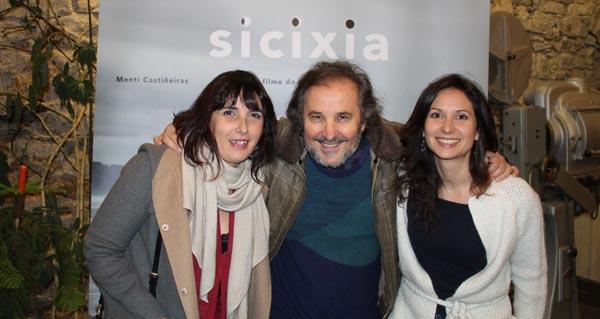 Photo of Ignacio Vilar e Laura Fernández presentan na Rúa o filme Sicixia