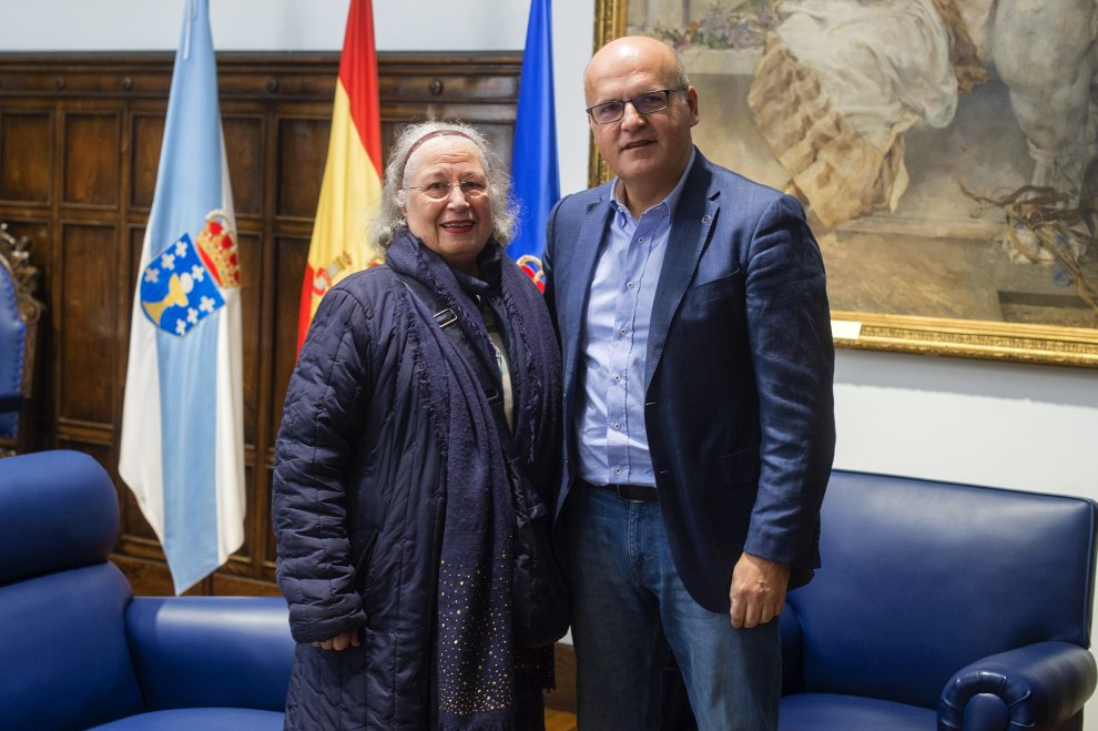 Photo of Luis Rodríguez Míguez, galardoado coa Medalla de Ouro da Provincia de Ourense