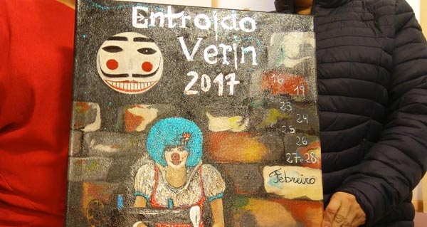 "Photo of Verín presenta o cartel do seu ""Entroido 2017"""