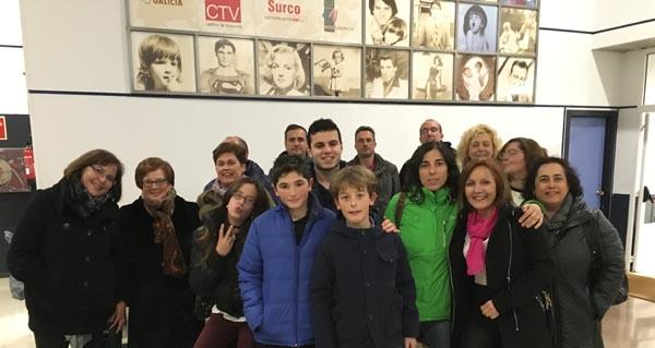 """Photo of Tres alumnos triveses actúan no """"Land Rober"""" da TVG"""