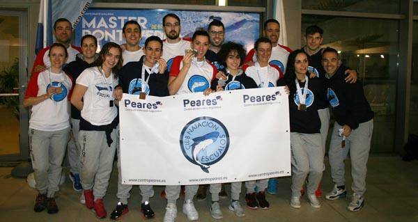 Photo of Sexto posto para o equipo feminino do CN Escualos no galego máster de natación