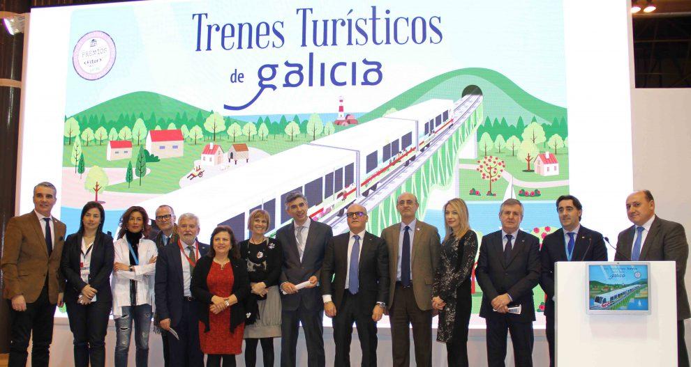 """Photo of O """"Tren Ourense Termal"""", a estrela da campaña """"Galicia a todo tren"""" en Fitur"""