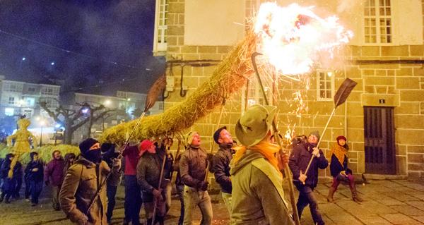 Photo of Castro Caldelas prepárase para a ancestral Festa dos Fachós