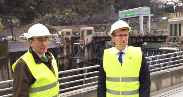 Photo of Ponse en marcha a nova central hidroelétrica de San Pedro II, en Nogueira de Ramuín