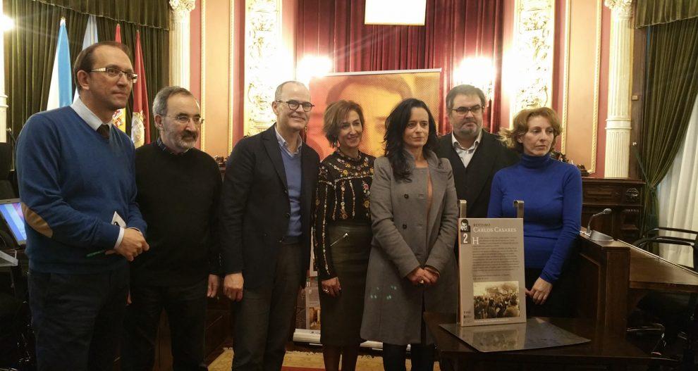 Photo of Carlos Casares contará co seu roteiro literario pola cidade de Ourense