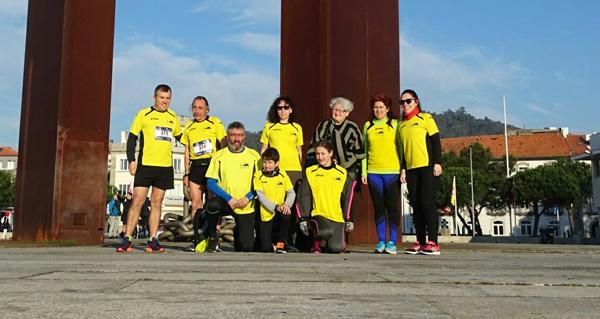 Photo of Os Saltamontes de Trives, no medio maratón de Viana do Castelo