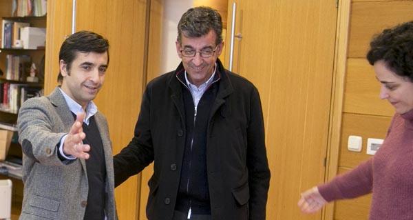 Photo of Reunión do alcalde de Sober co conselleiro de Política Social