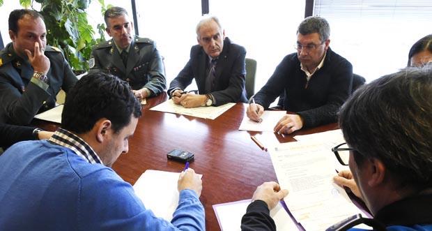 Photo of Reunión da Xunta Local de Seguridade no Barco