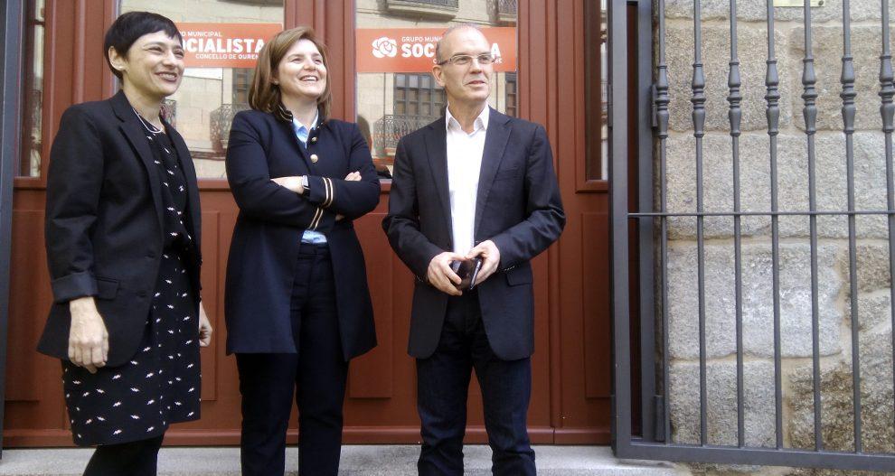"""Photo of Rocío de Frutos: """"a supresión da venda de billetes nas estacións está paralizada"""""""