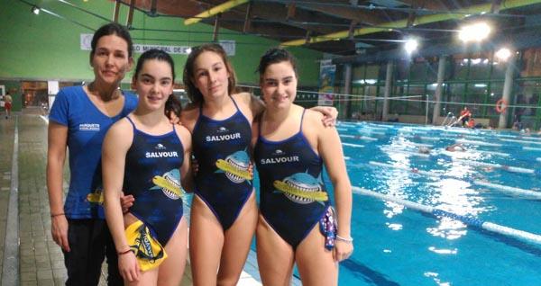 Photo of Tres deportistas ourensás no campionato de España cadete de salvamento