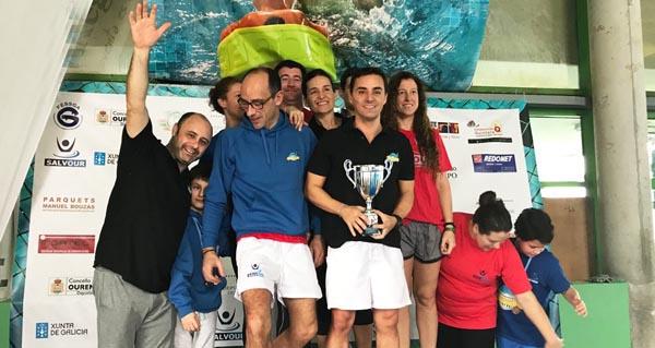 Photo of Salvour, campión galego máster no campionato de salvamento celebrado en Ourense
