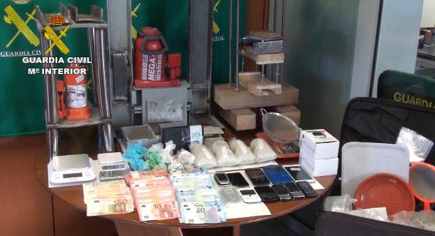 Photo of Seis detidos en Ourense acusados de narcotráfico a escala internacional