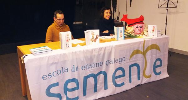 """Photo of Preséntase o libro """"Entruidos e Mascaradas na Galiza"""" en Santiago"""