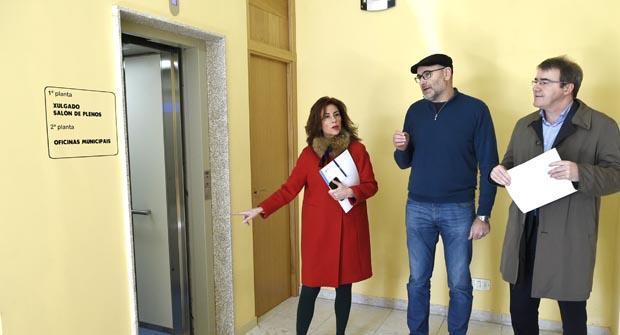 Photo of O alcalde de Viana recibe a visita da delegada da Xunta en Ourense