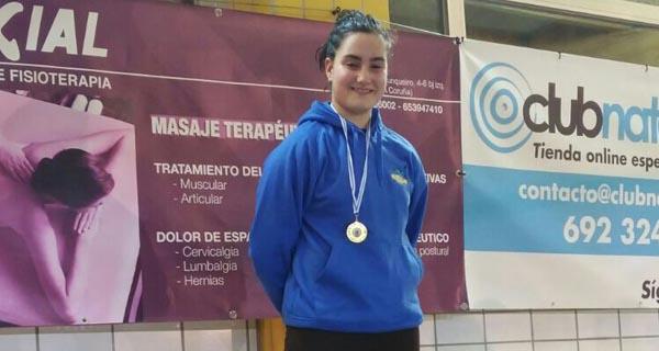 Photo of Récord galego e 1 ouro para a ourensá Eva Espinosa no campionato galego de salvamento e socorrismo