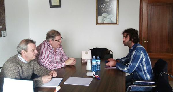Photo of O deputado Davide Rodríguez reúnese coa IXP Pataca de Galicia